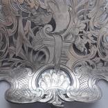 Сервировочная лопатка (для спаржи), рукоять серебро, Франция photo 3