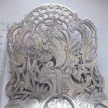 Сервировочная лопатка (для спаржи), рукоять серебро, Франция photo 4
