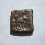 Бактрия. Драхма. Лисий I Аникет. 130-125 BC., фото №3