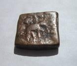 Бактрия. Драхма. Лисий I Аникет. 130-125 BC., фото №6