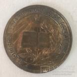 Медаль за окончание школы. Серебро 32 мм. РСФСР, фото №3