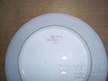 Старинная тарелка с вензелем. ( Изготовлена в Париже в первой половине 19века), фото №4