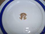 Старинная тарелка с вензелем. ( Изготовлена в Париже в первой половине 19века), фото №5