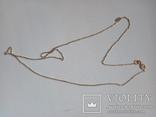 Золотая цепочка 45 см, фото №2