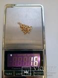 Золотая цепочка 45 см, фото №6