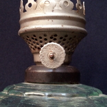 Керосиновая лампа ( Артель Химпром (Львов) горелка з-д Тельмана(Одесса )., фото №3
