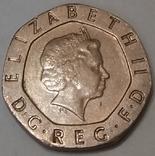 Велика Британія 20 пенсів, 2007 фото 2