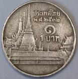 Таїланд 1 бат, 1989 фото 2
