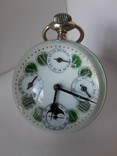 Часы Лунник стеклянный шар, фото №2