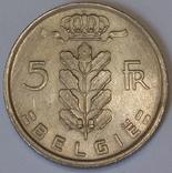 Бельгія 5 франків, 1949 BELGIE