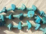 Бусы ожерелье натуральная бирюза США., фото №9