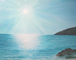 Ласковое море. 50х70 см. Холст, масло. Алек Гросс, фото №3