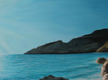 Ласковое море. 50х70 см. Холст, масло. Алек Гросс, фото №6