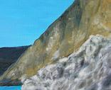 Ласковое море. 50х70 см. Холст, масло. Алек Гросс, фото №9