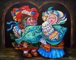 """Дары Нептуна"" холст масло 40х50 Шевченко И.И., фото №2"