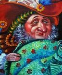 """Дары Нептуна"" холст масло 40х50 Шевченко И.И., фото №3"