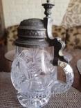 Старинный хрустальный бокал, фото №2