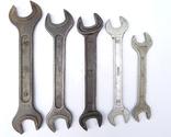 Ключи рожковые большие 46х41, 41х36, 36х32, 32х30, 30х27 photo 1