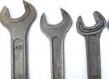 Ключи рожковые большие 46х41, 41х36, 36х32, 32х30, 30х27 photo 4