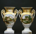 Фарфоровые вазы 19 века. photo 2