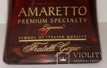 Ликер Amaretto Gozio Premium Speciality, Италия, фото №4