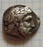 Тетрадрахма Филипп ll Македонский, фото №4