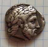 Тетрадрахма Филипп ll Македонский, фото №11