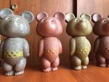 Олимпийские мишки СССР большие 6 штук photo 2