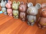 Олимпийские мишки СССР большие 6 штук photo 4