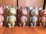 Олимпийские мишки СССР большие 6 штук photo 5