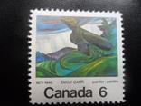 Фауна. Птицы. Канада.  марка MNH, фото №2
