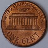 США 1 цент, 1989 фото 2
