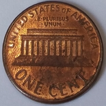 США 1 цент, 1995 фото 2