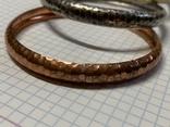 Три металических браслета с Италии, фото №3