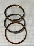 Три металических браслета с Италии, фото №6