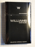 Сигареты WILLIAMS NANO BLACK