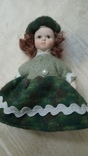 Фарфоровые мини куколки 8шт, фото №3