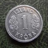 1 крона 1978   Исландия   ($1.1.9) ~, фото №2