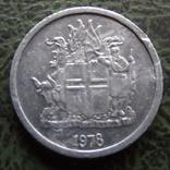 1 крона 1978   Исландия   ($1.1.9) ~, фото №3