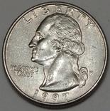 США ¼ долара, 1997