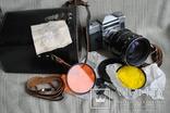 Фотоаппарат Зенит-6 (ZENIT), экспортный выпуск, ЗУМ Рубин-1, документы.