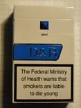 Сигареты D & B LIGHT фото 2