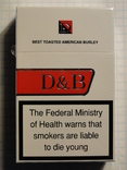 Сигареты D & B RED
