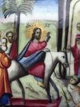 Иконка Финифть Вход Господень В Иерусалим, фото №3