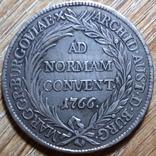 Бургау талер 1766 г., фото №3