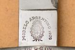 Тесак обр. 1909 г. для Аргентины, клеймо Золинген photo 11