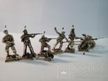 1942 год. Морская пехота. Оборона Севастополя+пулемет+пушка, фото №2