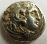 Древняя Греция, г. Kolophon драхма, (336-323 гг. до н.э.) Александр Македонский, фото №2