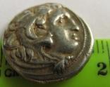 Древняя Греция, г. Kolophon драхма, (336-323 гг. до н.э.) Александр Македонский, фото №4