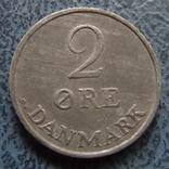2 эре 1967  Дания    ($2.1.2) ~, фото №3